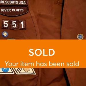 Girl Scouts/Brownies vest